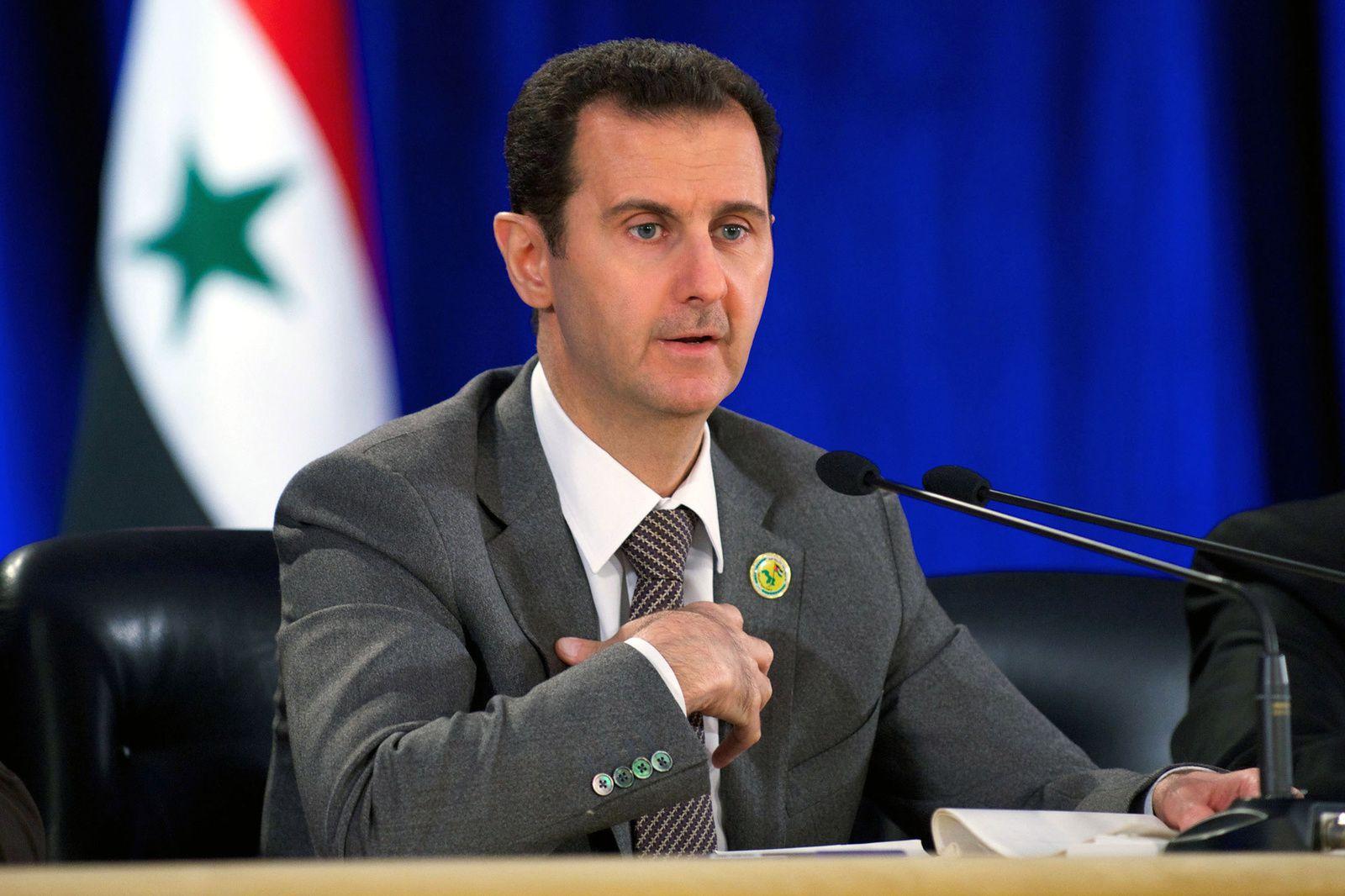 Bachar el Assad l'homme à abattre, mais qui convient à pas mal de monde.