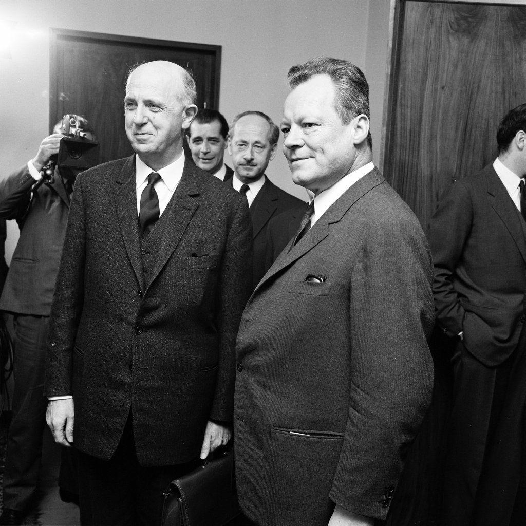 Pierre Harmel et Willy Brandt : deux artisans majeurs du rapprochement Est-Ouest