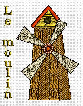 La ferme 5: le moulin