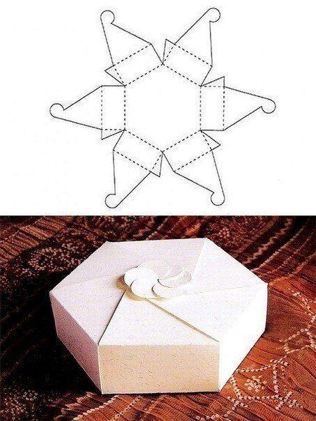Idées paquets cadeaux origami...