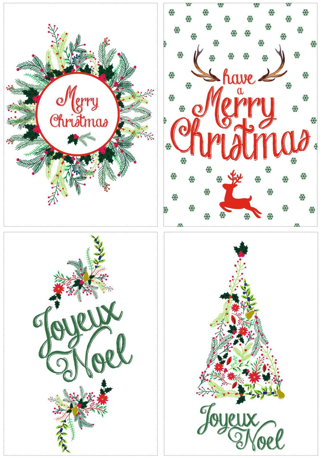 Décoration De Noel à Imprimer