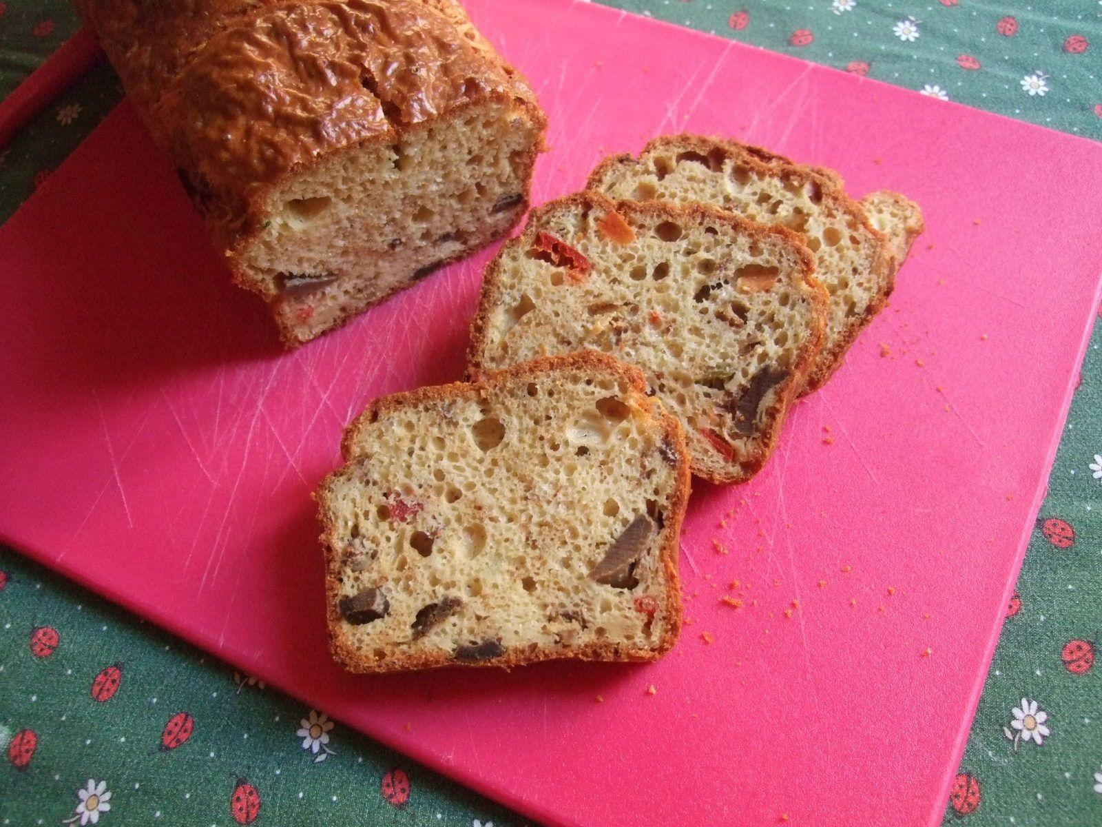 Cake à l'émietté de canard , partenariat &quot&#x3B; Belle Chaurienne&quot&#x3B;
