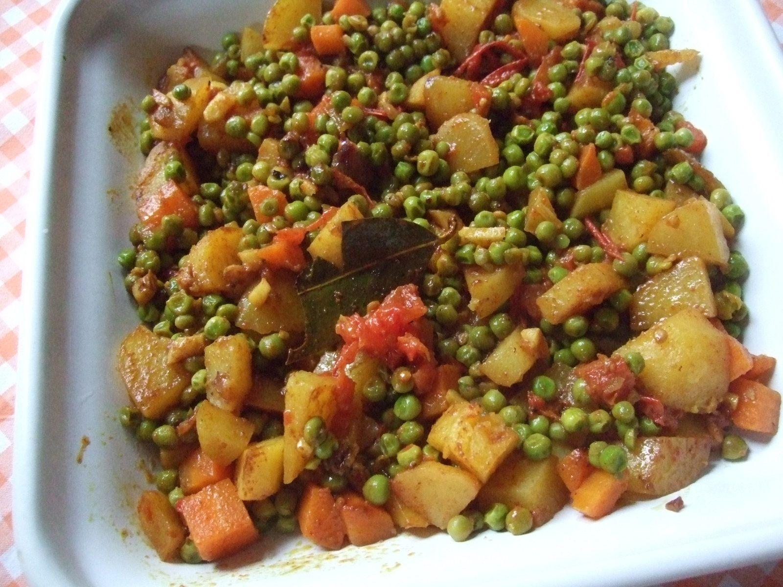 Curry aux petits pois pour un tour en cuisine le blog de for Petit pois cuisine