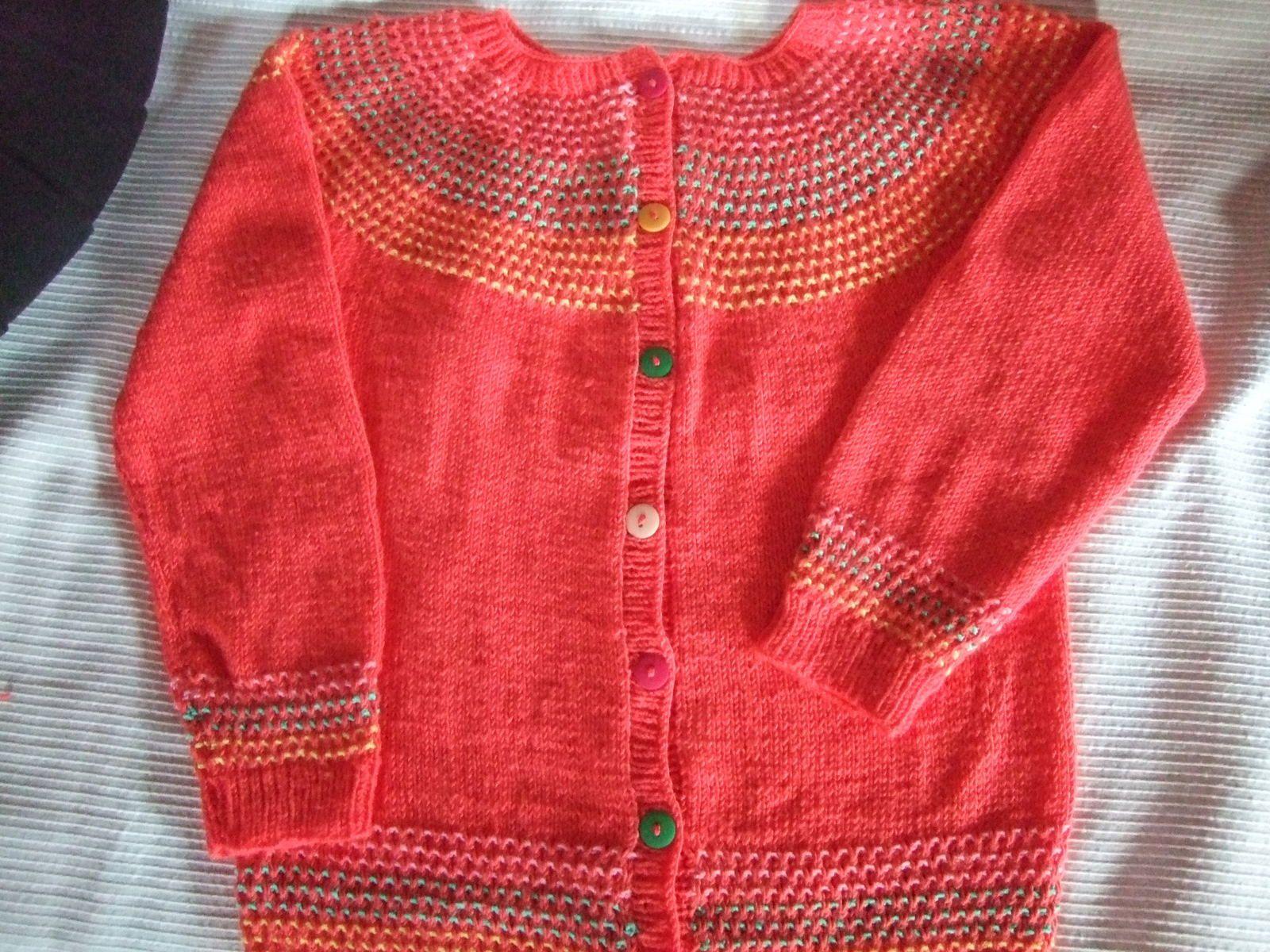 Moi j'tricote...