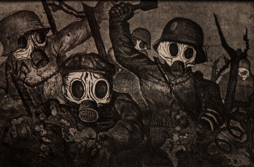 Otto Dix, La Guerre, 1924. Moma, New York, USA.