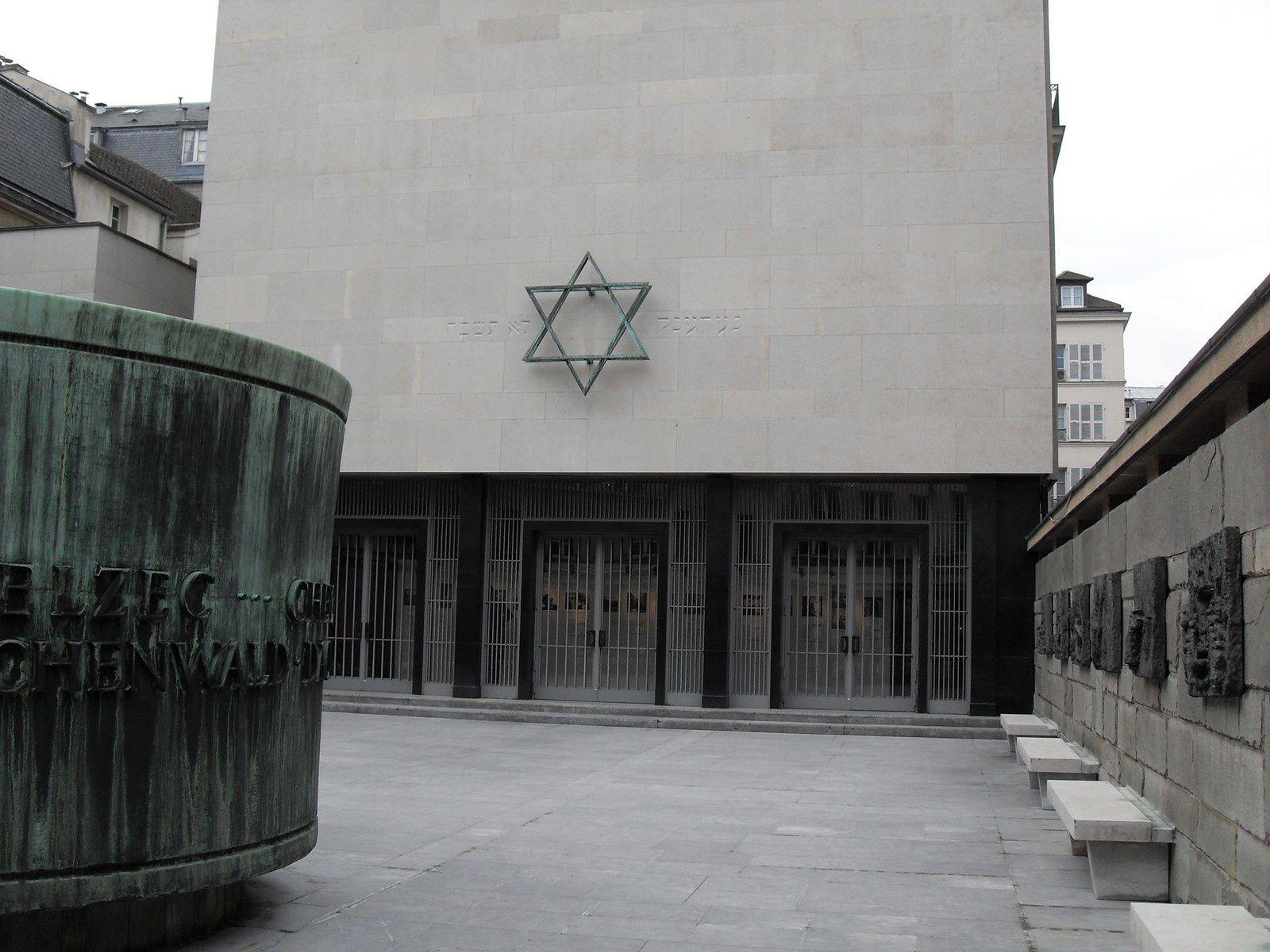Mémorial de la Shoah, Paris, France.
