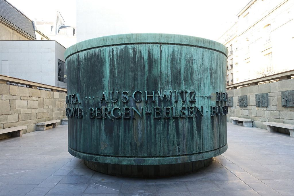 Mémorial de la Shoah, Paris.
