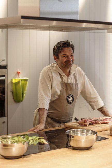 Stéphane Jego pour Les Secrets du Chef