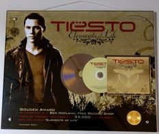 Tiësto l'album Disque d'Or Elements of Life, en vente aux enchéres !