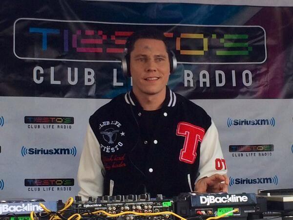 Tiësto photos: Club Life Radio 3rd Annual Celebration SirusXM 26 march 2014