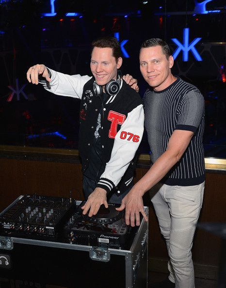 Tiesto Celebrates Las Vegas Debut Of His Madame Tussauds Wax Figure At Hakkasan