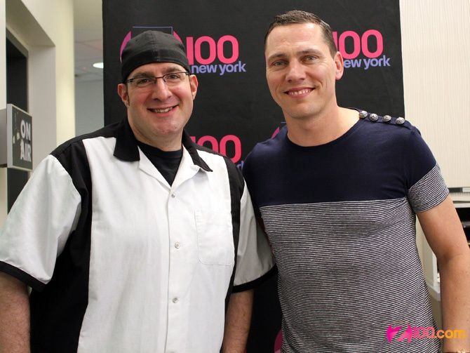 Tiësto interview vidéo for Radio Z100, New York - june 2014