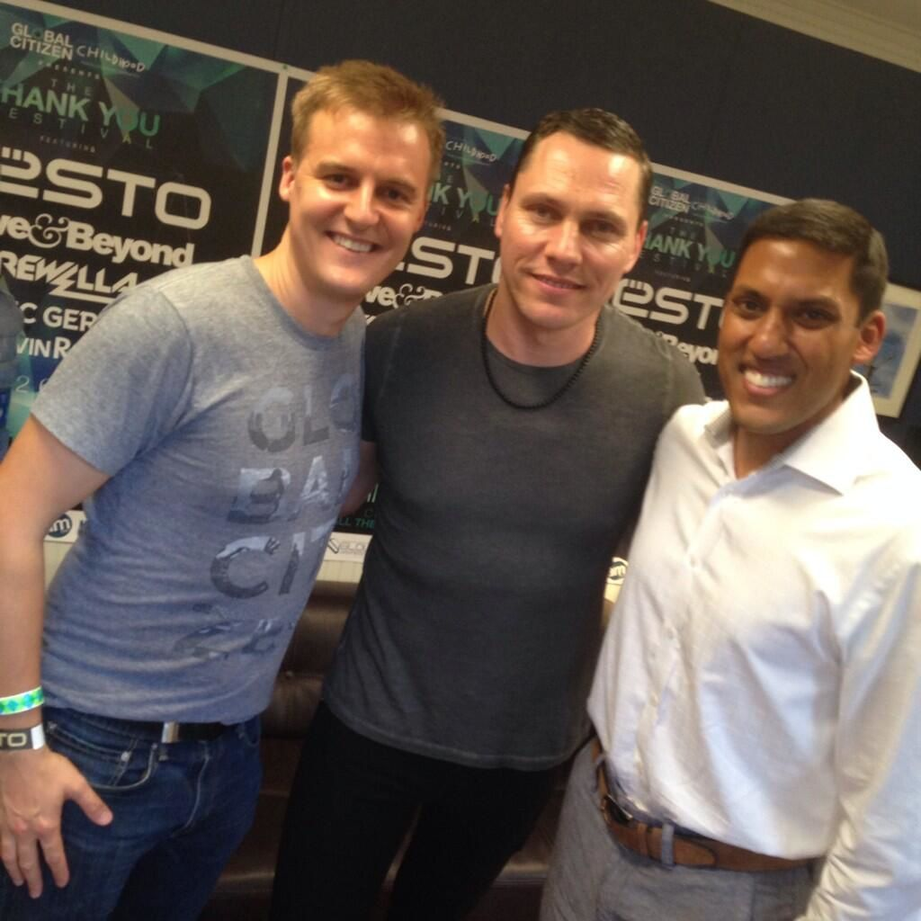 Tiësto photos: Global Citizen's Thank You Festival - Columbia, MD 26 june 2014