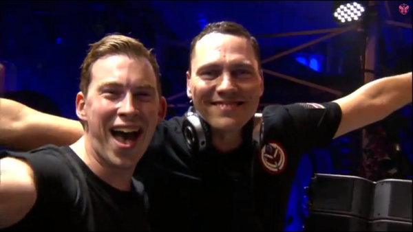 Tiësto & Hardwell live at Tomorrowland 26 july 2014