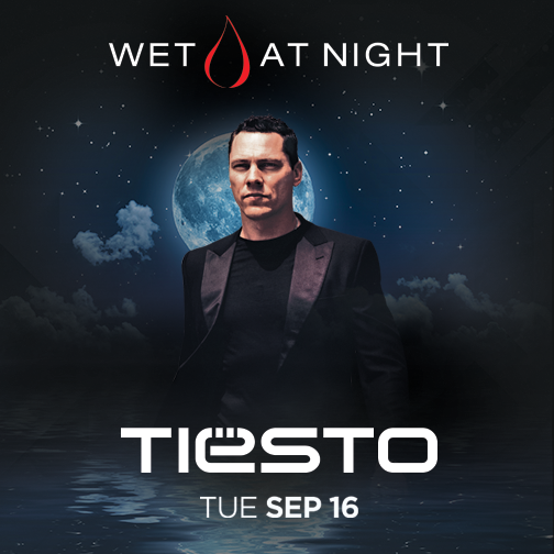 Tiësto photos: Wet at Night at Wet Republic - Las Vegas, NV 16 september 2014