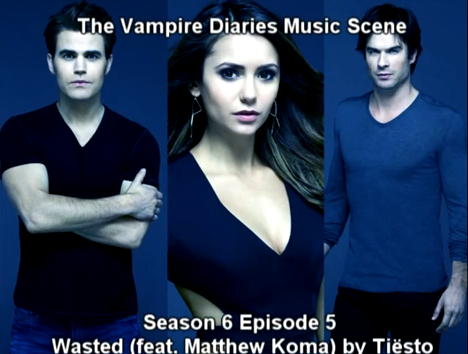 The Vampire Diaries Music Scene with Tiësto - Wasted