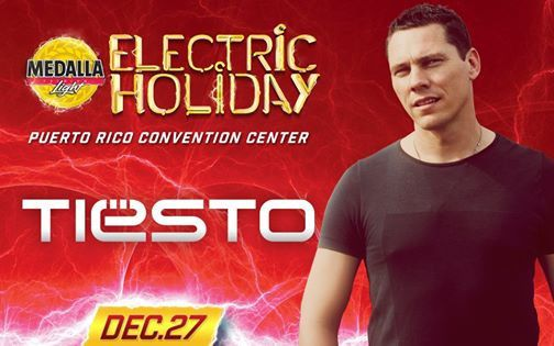 Tiësto photos: Electric Holiday - San Juan, Puerto Rico - december 27, 2014