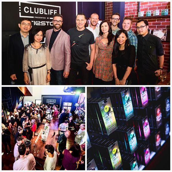 Tiësto photos, Celebrating the opening of Audiofly's store #tiestolive
