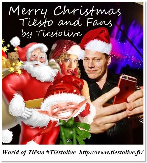 @tiesto and World Fans - Merry Christmas