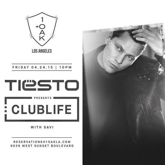 Tiësto photos | 1 OAK | Los Angeles, CA - april 24, 2015