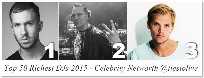 Top 50 Richest DJs 2015 - Celebrity Networth