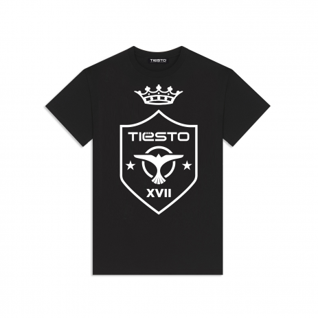 New on Tiësto Shop - Tiësto Shield T-Shirt