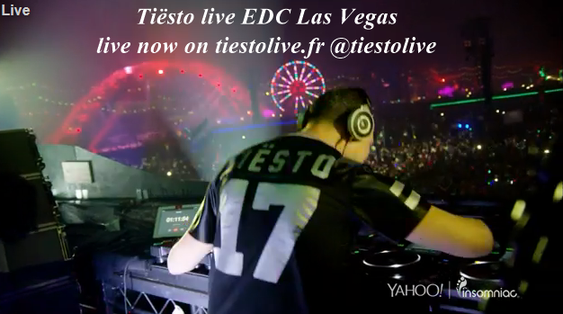 Tiësto and more Livestream at Electric Daisy Carnival Las Vegas - june 19,20,21 2015