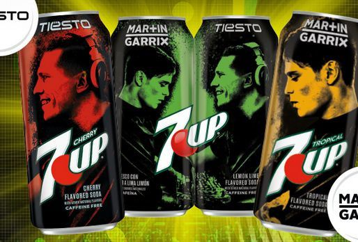 Win Limited Edition Martin Garrix & Tiesto Series 7 UP Cans!