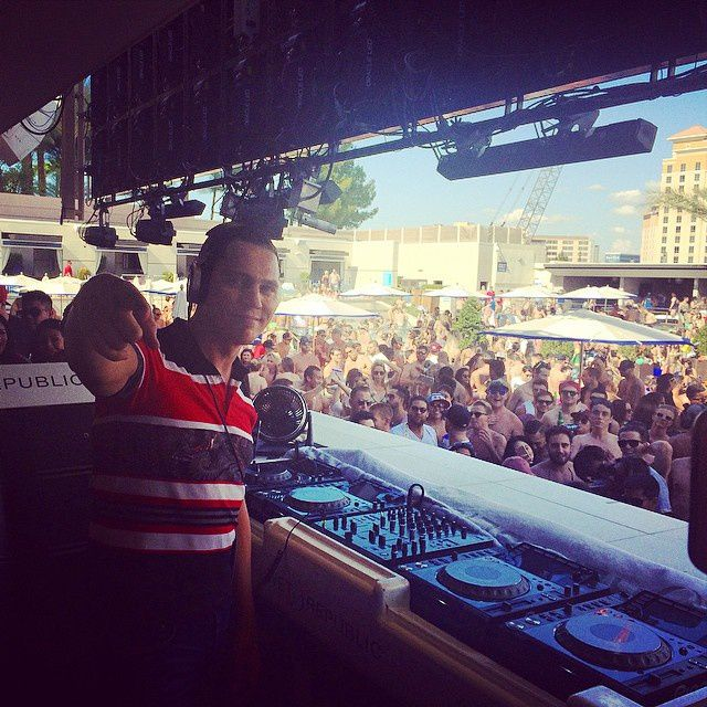 Tiësto photos | Wet Republic | Las Vegas, NV - august 09, 2015
