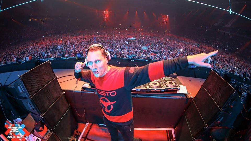 Tiësto tracklist and mp3 - Amsterdam Music Festival - october 17, 2015