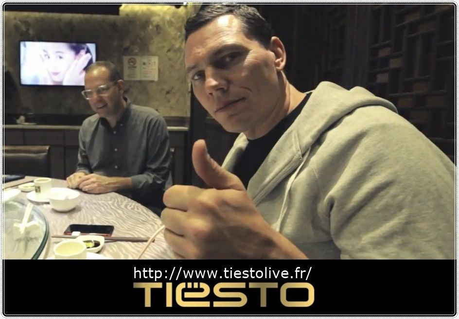 Tiësto Vidéo, In Asia 2015 - Behind the Scenes