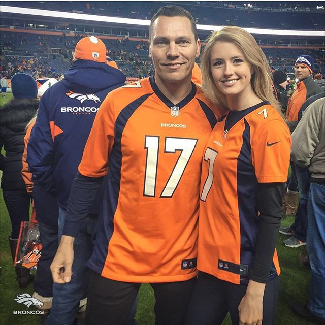 Tiësto, Bronco Fan, interview and photos - Go Broncos !!!