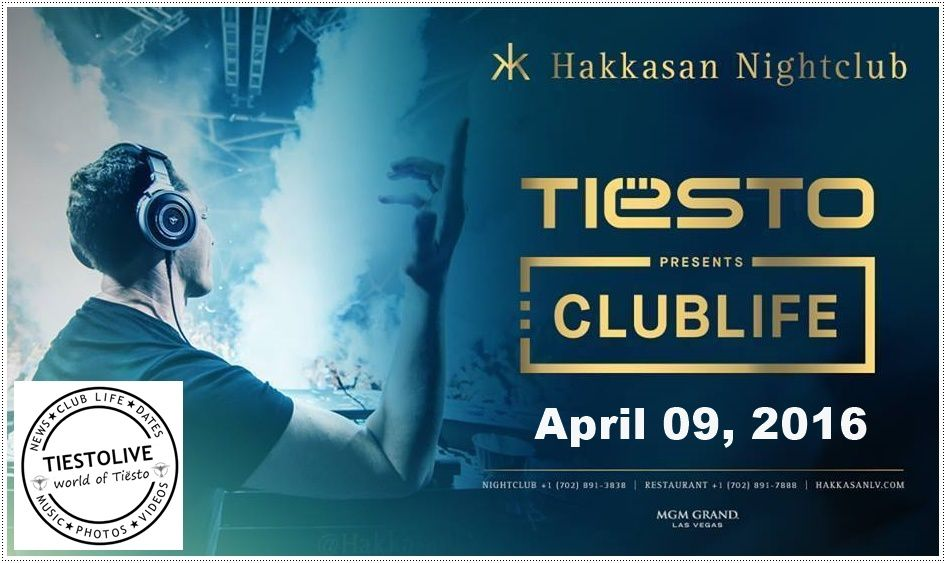 Tiësto photo | Hakkasan | Las Vegas, NV - april 09, 2016