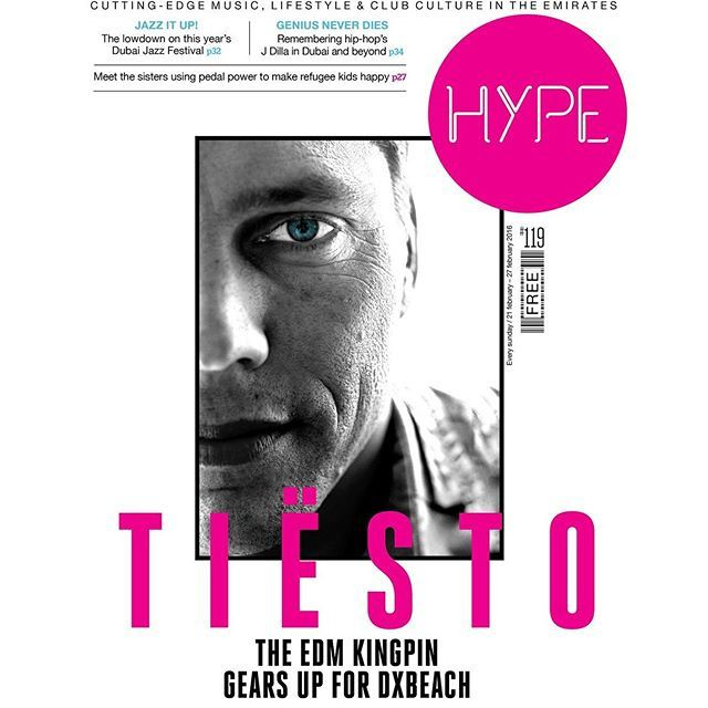 Tiësto Cover for Hype Magazine