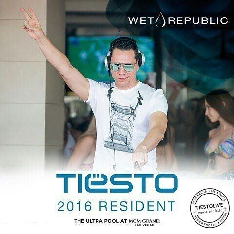 Tiësto photos | Wet Republic | Las Vegas, NV - May 07, 2016