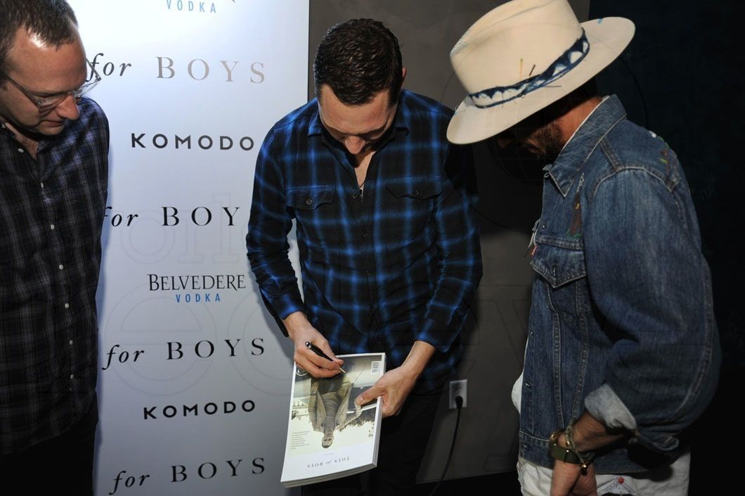 Toys For Boys Magazine : Photos tiësto at komodo miami for toys boys magazine