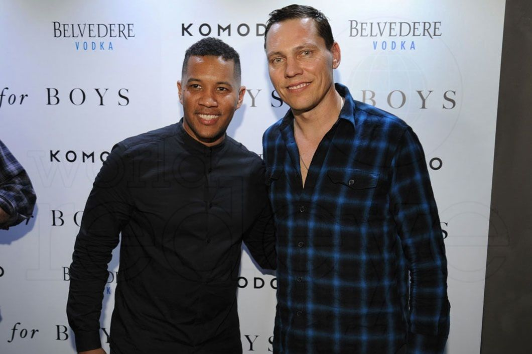 Photos Tiësto at Komodo (Miami) for Toys for Boys magazine
