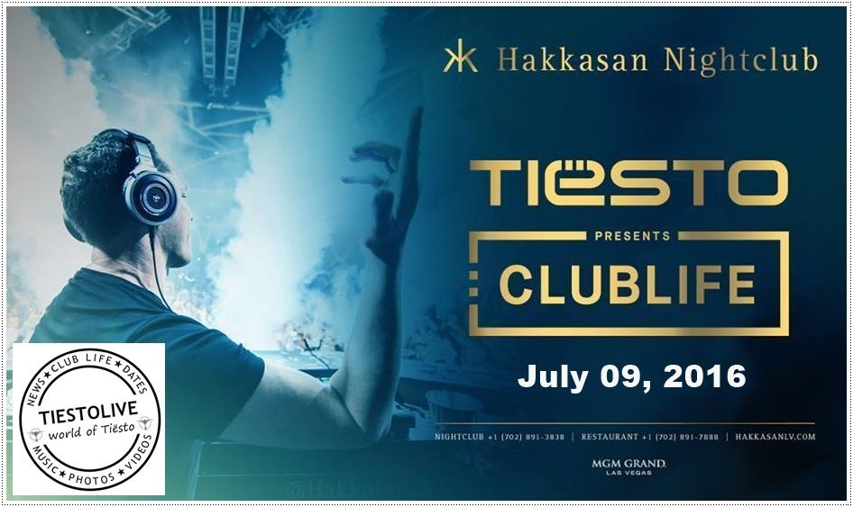 Tiësto photos | Hakkasan | Las Vegas, NV - July 09, 2016