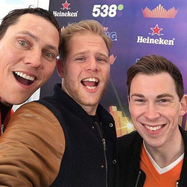 Tiësto and Hardwell - Interview for Radio 538 - Koningsdag 2016