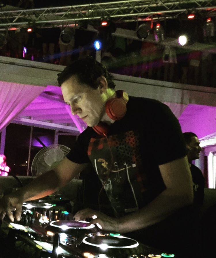 Tiësto Photos | Paradise Beach Club | Mykonos, Greece - August 03, 2016