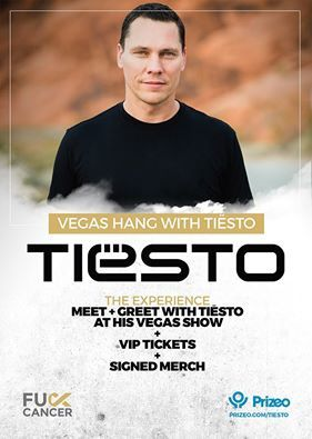 Win a Trip The Vegas Strip To Hang With Tiësto ! #FuckCancer  #DJsFCancer