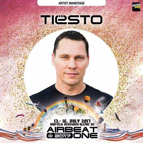 Tiësto photos | Airbeat One Festival | Neustadt-Glewe, Germany - July 14, 2017