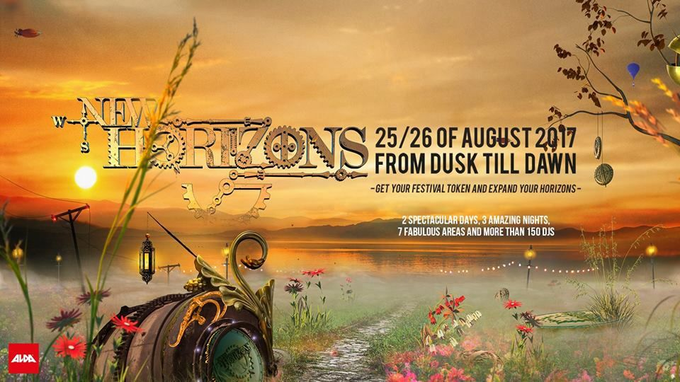 Tiësto date | New Horizons Festival | Nürburg, Germany - august 25, 2017