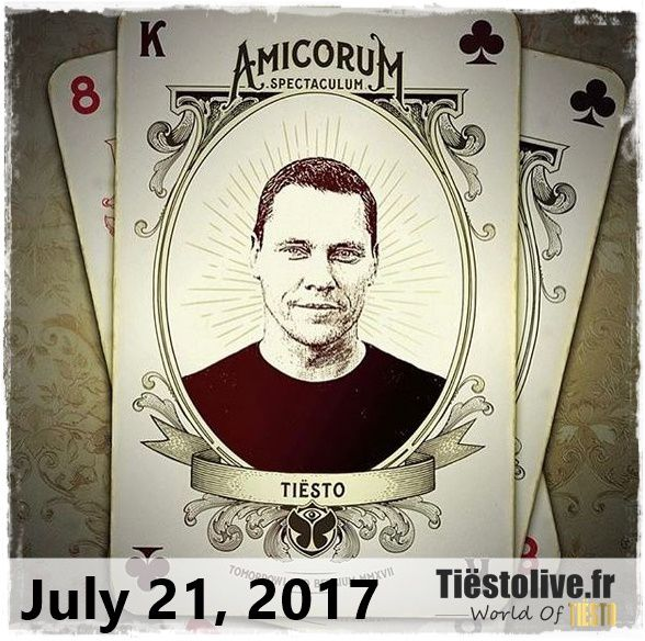 Tiësto date | Tomorrowland | Boom, Belgium - july 21, 2017