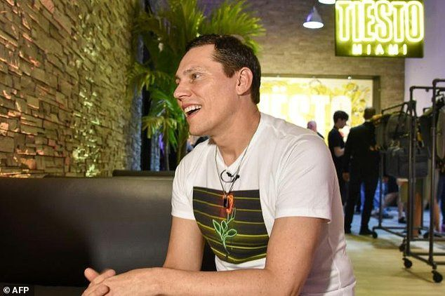 For @tiesto, &quot&#x3B;connecting to audience is like 'having sex&quot&#x3B;
