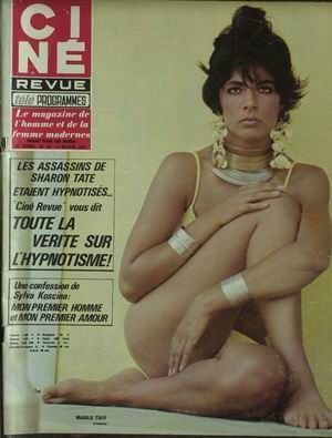 Marilu Tolo en une de Ciné-revue à la fin des années 60