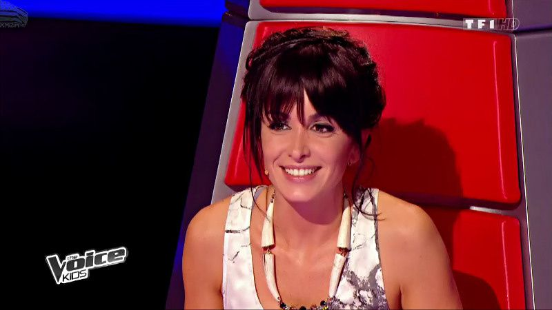 Jenifer - The voice kids du 23 Août
