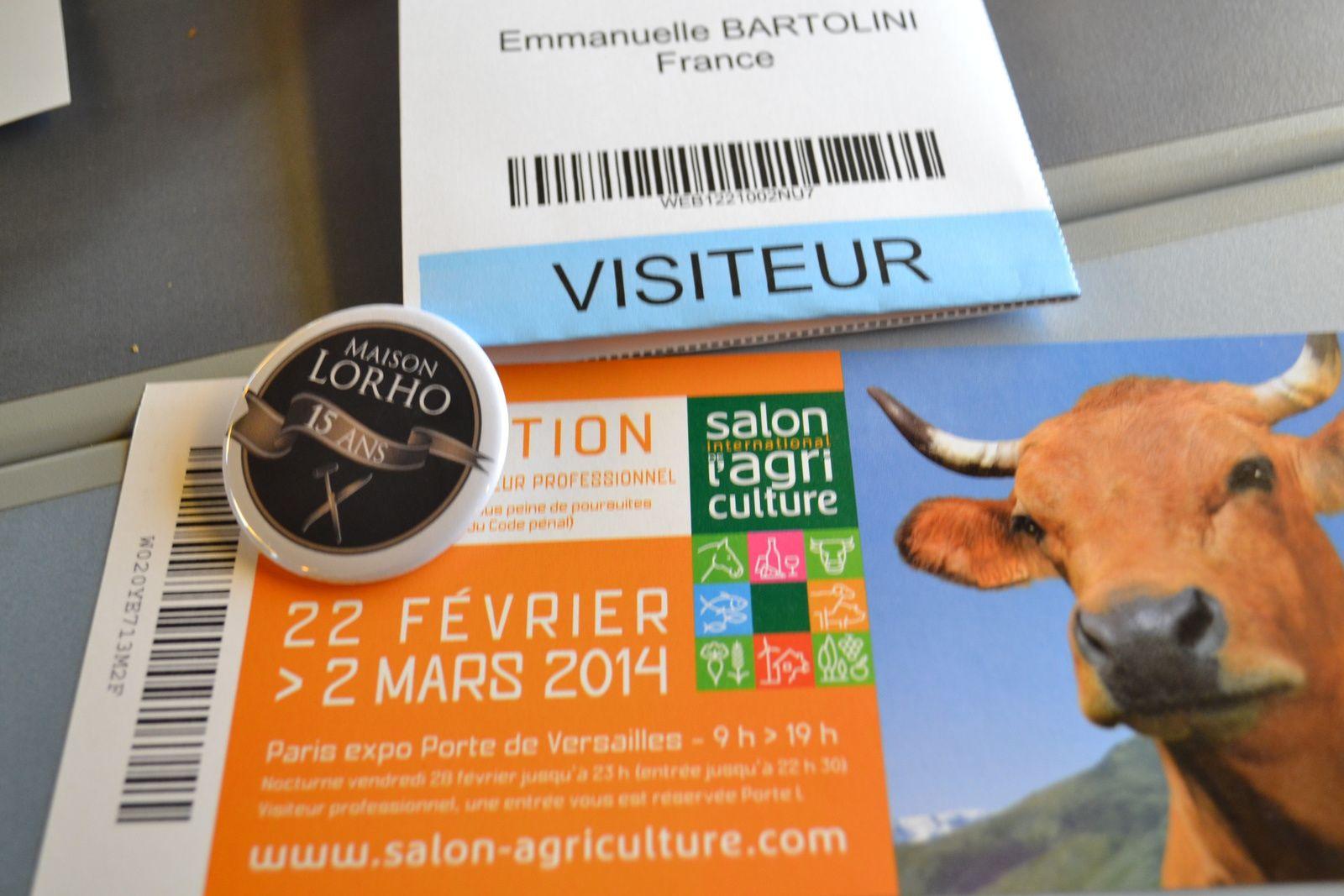 Salon de l 39 agriculture j 39 y tais hum a sent bon for Billet salon de l agriculture