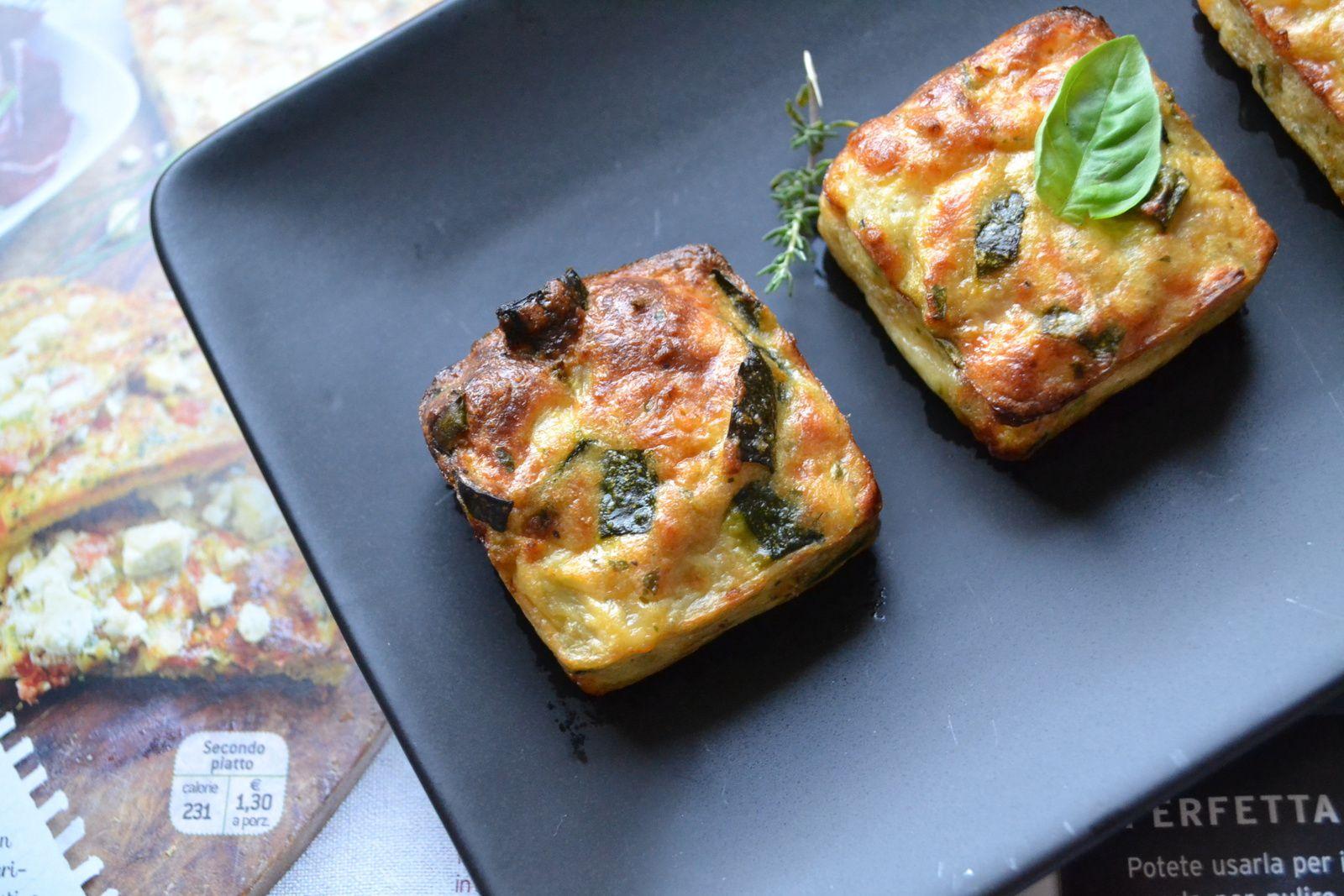 Bouchées de courgettes, mozzarella et herbes aromatiques