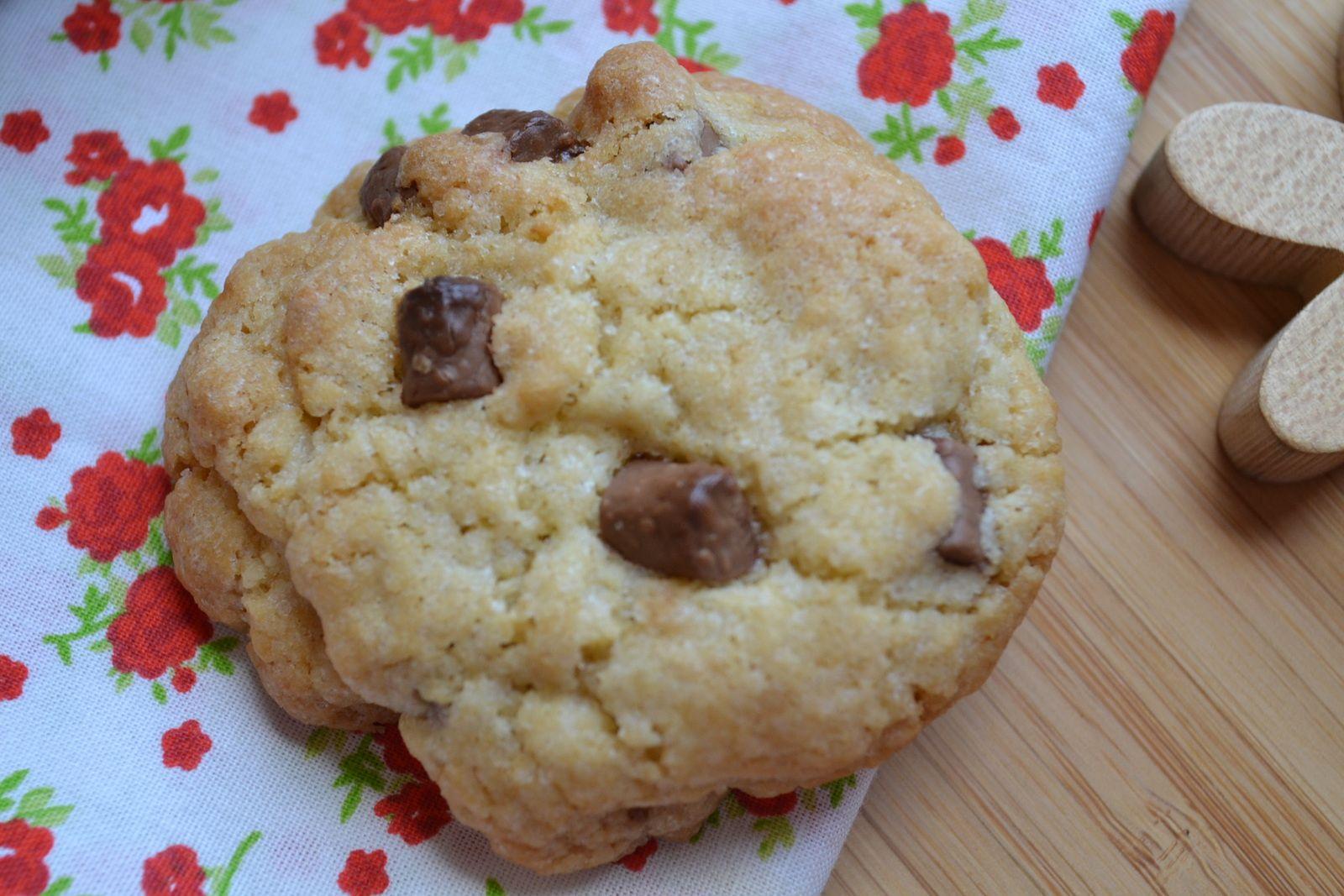 Cookies aux chuncks chocolat au lait